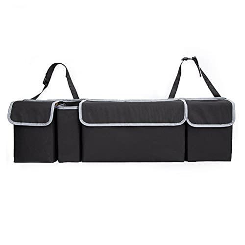 Nihlsen Bolsa de almacenamiento para asiento trasero de coche, tronco trasero, bolsa de almacenamiento de coche, tres bolsas coherente fuerte estructura sólida