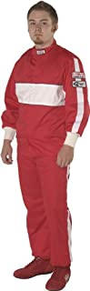 G-Force 4385LRGRD GF 505 Red Large Triple Layer Racing Jacket