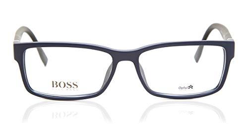Hugo Boss - BOSS 0797, Rechteckig, Optyl, Herrenbrillen, BLUE(QNZ), 56/15/140