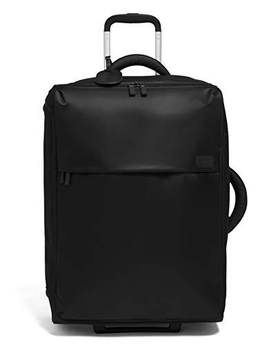 Lipault - Maleta 0% Pliable Vertical Plegable 65/24 - Bolsa de Viaje con Ruedas - Black