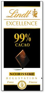 LINDT: 99% Cocoa Excellence Bar: 12 Count