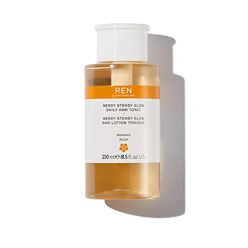 Face by REN Clean Skincare Ready Steady Glow Daily AHA Tonic / 8.5 fl.oz. 250ml