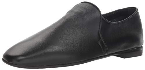 Aquatalia Women's REVY Soft Nappa Loafer Flat, black, 5.5 M US