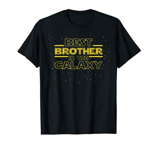 Brother Shirt Gift, Best Brother in the Galaxy T-Shirt