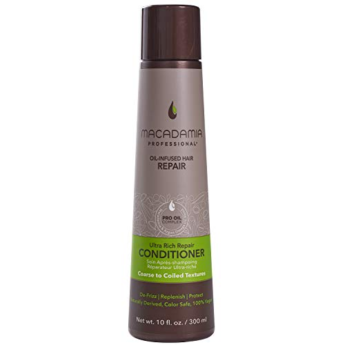 Macadamia Professional Hair Care Sulfate & Paraben Free Natural Organic Cruelty-Free Vegan Hair Products Ultra Rich Repair Hair Conditioner, 10oz
