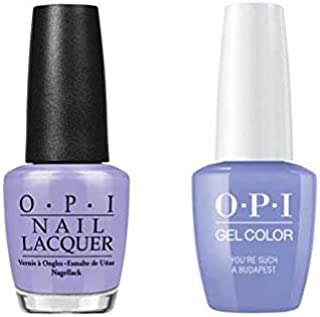 You're Such a Budapest Nail Lacquer + Gel New Bottle E74