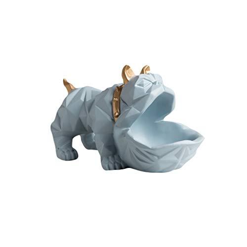 HongLianRiven Ambachten Bulldog Ornamenten veranda Opslag Decoraties Deur Schoenkast Sleutel Woonkamer Creatieve Kleine Meubels Eenvoudige Moderne 12-25