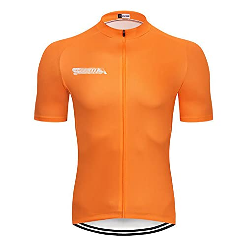 Hombres Ropa de Ciclistas Jersey Ropa Bicicleta Camiseta Manga Corta para Bicicleta Verano MTB Shirt