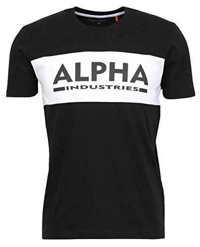 ALPHA INDUSTRIES Herren 18650503-black-M T-Shirt, Black, M