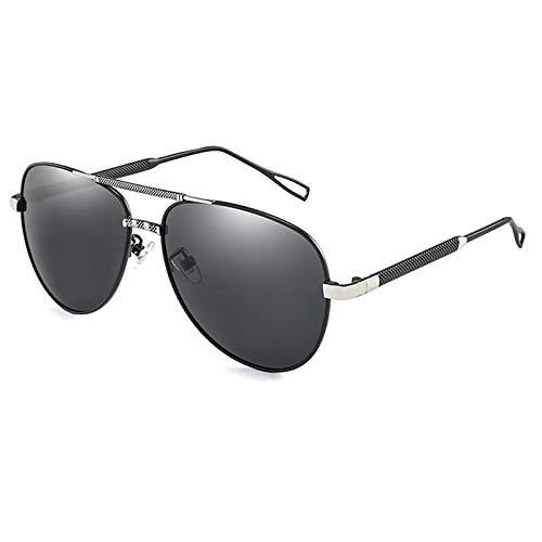 NJJX Gafas De Sol Polarizadas Clásicas Hombres Hombres Gafas De Sol De Conducción Gafas De Sol De Metal Sombras 01