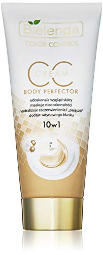 Multifunctional CC Body Cream 10-in-1 Colour Control Body Perfector 175 ml by Bielenda - Effectively improves skin appearance / Conceals all imperfections / Firms and moisturizes skin