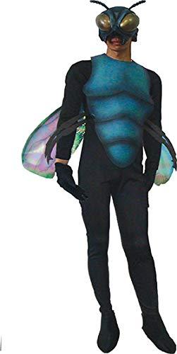 Funny Fashion Disfraz de Mosca Disfraz de Carnaval Adulto Halloween