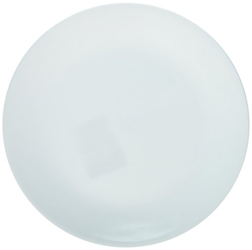 Corelle Winter Frost Plates White Dinner 10-1/4' Dia. (Pack of 6), 1-Pack