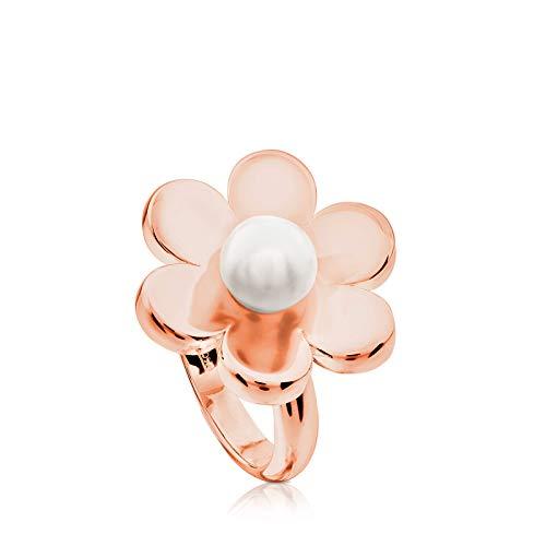 TOUS anillo de mujer, Happy Moments, plata...