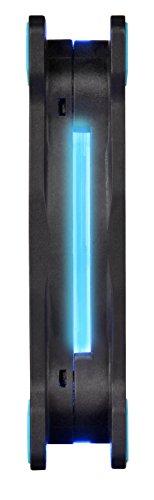 Thermaltake CL-F055-PL12BU-A Riing 12 LED Gehäuselüfter, 3er Pack blau