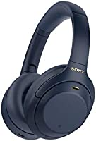 Sony WH-1000XM4 Wireless Industry Leading Noise Canceling Overhead Headphones with Mic for Phone-Call and Alexa Voice...