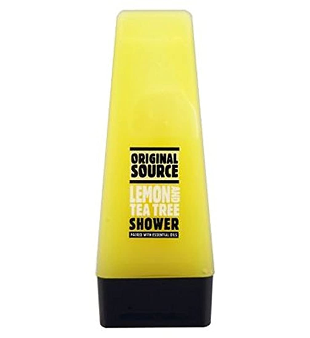 意気揚々一般的な免疫するオリジナルのソースレモン&ティーツリーシャワー50ミリリットル (Original Source) (x2) - Original Source Lemon & Tea Tree Shower 50ml (Pack of 2) [並行輸入品]