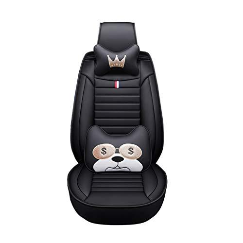 Stoelhoes voor de kinderwagen, inclusief lederen zitkussens voor vier seizoenen, inclusief zitkussen voor auto's met vijf zitplaatsen.