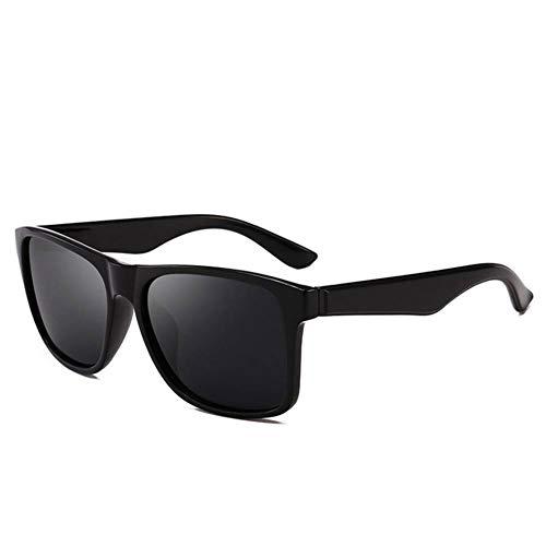WZYMNTYJ Occhiali da Sole Polarizzati da Uomo Occhiali da Sole Design Designer Occhiali da Sole A Specchio Quadrati Guida
