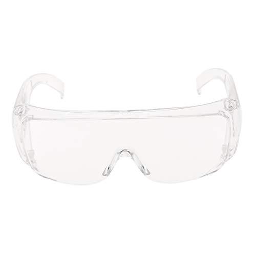 H HILABEE Faltbare Motorrad Plexiglasbrille Staubdichte Schutzbrille Transparent