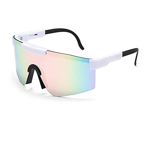 ZXQ Pit -Vipers Gafas De Sol Polarizadas, Gafas De Ciclismo, Gafas para Exteriores Gafas De Sol para Hombres Mujeres Correr Pesca Escalada Trekking Esquí Conducción Golf