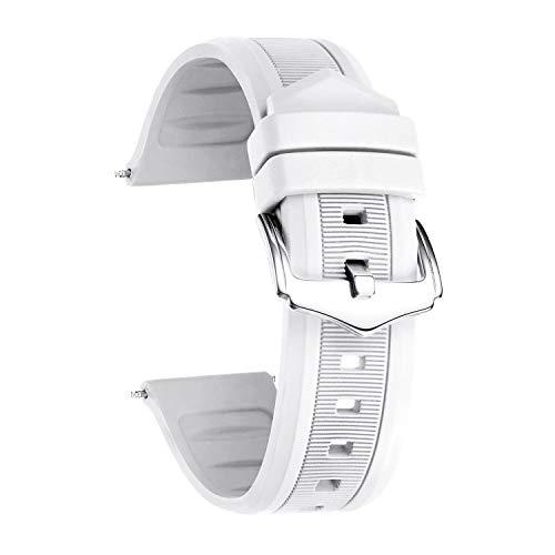 BINLUN Cinturino per Smart Watch in Silicone,Colori...