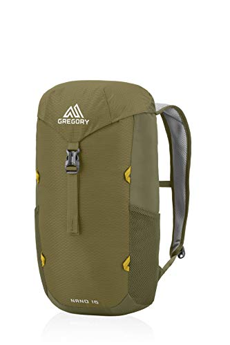 Gregory Mountain Products Nano 16 Everyday Outdoor Backpack, Fennel Green, one Size