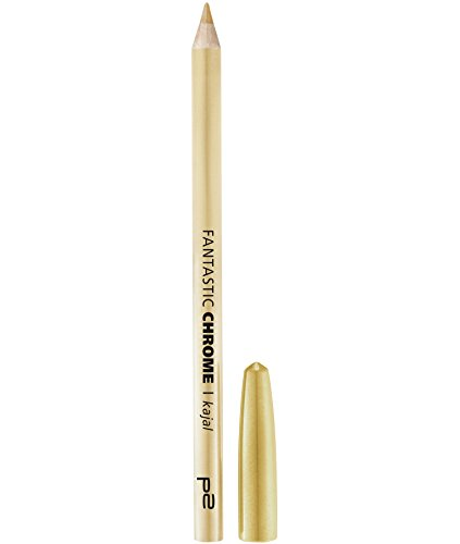 p2 cosmetics Fantastic Chrome Kajal 010, 3er Pack (3 x 1 g)