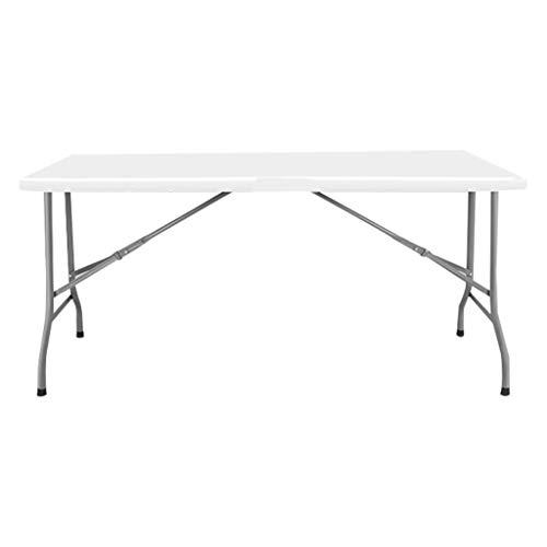 ZHDDM Zusammenklappbarer Tisch Mit Griff Picknick Party Camping Für Picknick/Garten/Heckklappe/Strand/Camping/Funktionen/Buffet/BBQ - Max. Zuladung 500kg