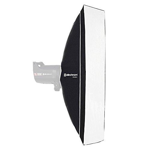 Elinchrom Rotalux Squarebox - Softboxen (Schwarz, Silber, 700 mm, 320 mm, 700 mm, 674 g)
