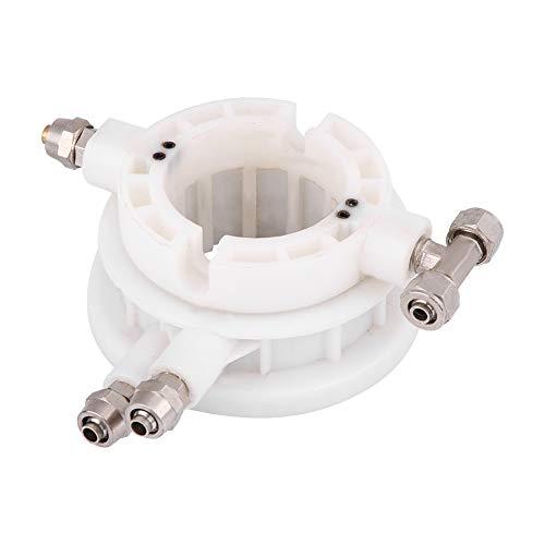 KIMISS 49mm Parte del cambiador del neumático [Acoplador rotativo] Válvula de control de aire de acoplamiento