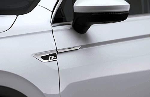 R Logo R-Line ORIGINAL Emblem Schriftzug Kotflügel Aufkleber Links und Rechts Set