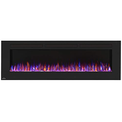 Napoleon NEFL72FH Allure Linear Wall Mount Electric Fireplace, 72'