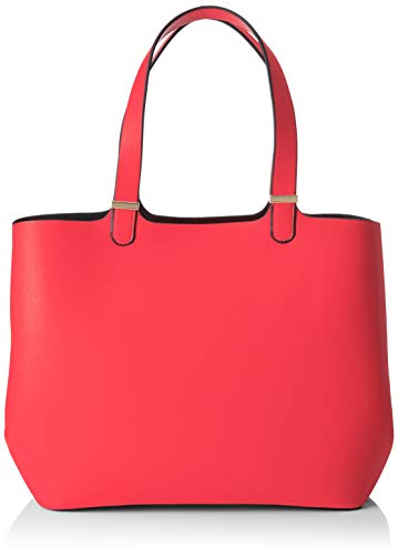 PIECES Damen Pckopa Shopper Noos Schultertasche Pink (Aura Orange)