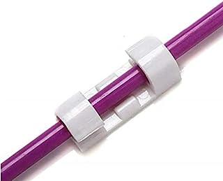 Voarge samoprzylepne zaciski kablowe / klipsy do kabli, 40 szt. samoprzylepnych na biurko, kabel sieciowy USB do ładowania...