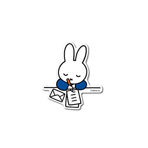 miffy ミッフィー 手紙 キャラクターステッカー 絵本 イラスト かわいい こども ダイカットステッカー うさぎ うさこちゃん 人気 MIF010 gs 公式グッズ