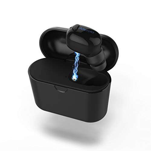 Wireless Bluetooth Earbud, Alterola IE600P Bluetooth 5.0 Single Mini...