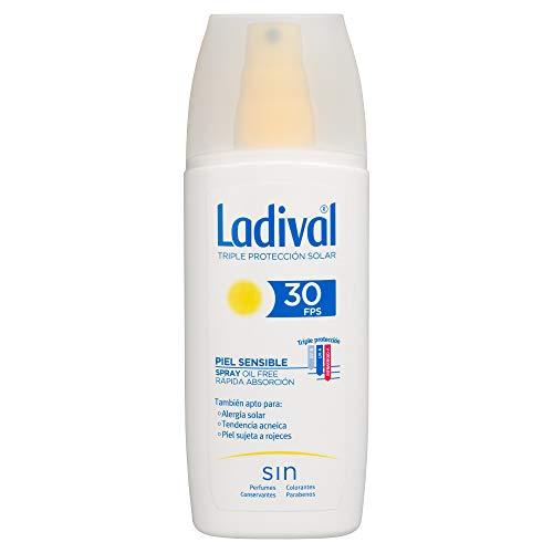 Ladival Protector Solar Piel Sensible - Spray - FPS 30, 150 ml