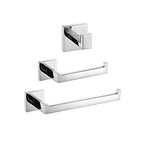 Turs de 3 piezas Baño Accesorio Establecer SUS 304 acero in
