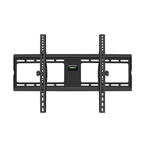 VERDELZ Soporte de Pared de TV Ultrafino Universal con ángulo Ajustable, Adecuado para TV de Pantalla Plana OLED LCD LED de 32-55 48-75 Pulgadas, hogar