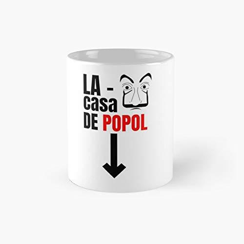 Taza clásica de regalo para papá | El mejor regalo divertidas tazas de café 11 oz