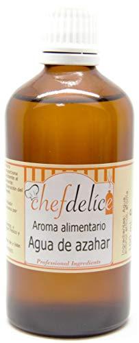 Chefdelice Chefdelice Aroma Agua De Azahar Para Glaseados, Helados, Horneados Y Cremas, 100Ml Chefdelice 100 g