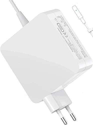 Ywcking Mac Pro Ladegerät, 85W L-Spitze Mac Ladegerät Kompatibel mit Mac Pro 13' 15' und 17 Zoll 2006 2007 2008 2009 2010 2011 2012, Funktioniert mit 45W/60W/85W.