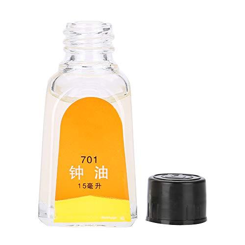Yuyte Uhrenöl für Taschenuhren & alle Uhren Schmiermittel Öl Reinigungswerkzeug