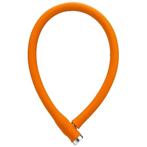 Candado Bloqueo Bloqueo de silicona Cable de acero for bicicletas antirrobo de...