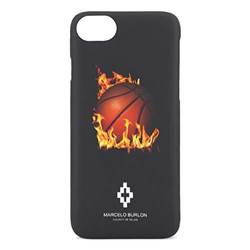 Marcelo Burlon | Fireball Cover iPhone 8 7 6 6s Nero | MBU_M8-Fireball