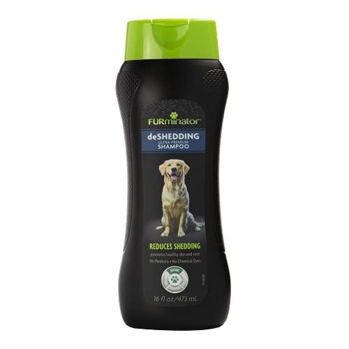 FURminator deShedding Ultra Premium Dog Shampoo,...
