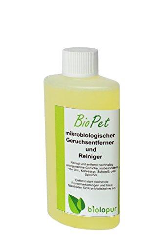 Biolopur   Geruchsneutralisierer   Geruchsentferner - Spray   Urin Reiniger   1:10 KONZENTRT   100ml ergibt 1L Fertiglösung