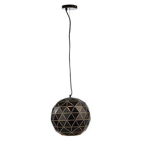 Deko-Light Lampe Suspension Ronde Ronde 400 E27 Noir Mat