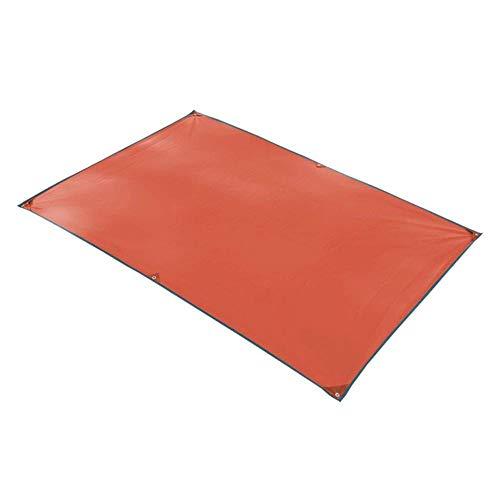 GLLP Beach Blanket Alfombra de Picnic al Aire Libre de la Comida campestre Manta Carpa Pad portátil a Prueba de Agua 251 × 215cm (Color : Orange, Size : 150×215cm)